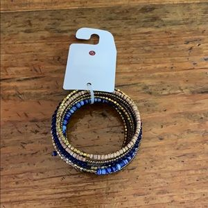 NWT beautiful multi band/color bracelet